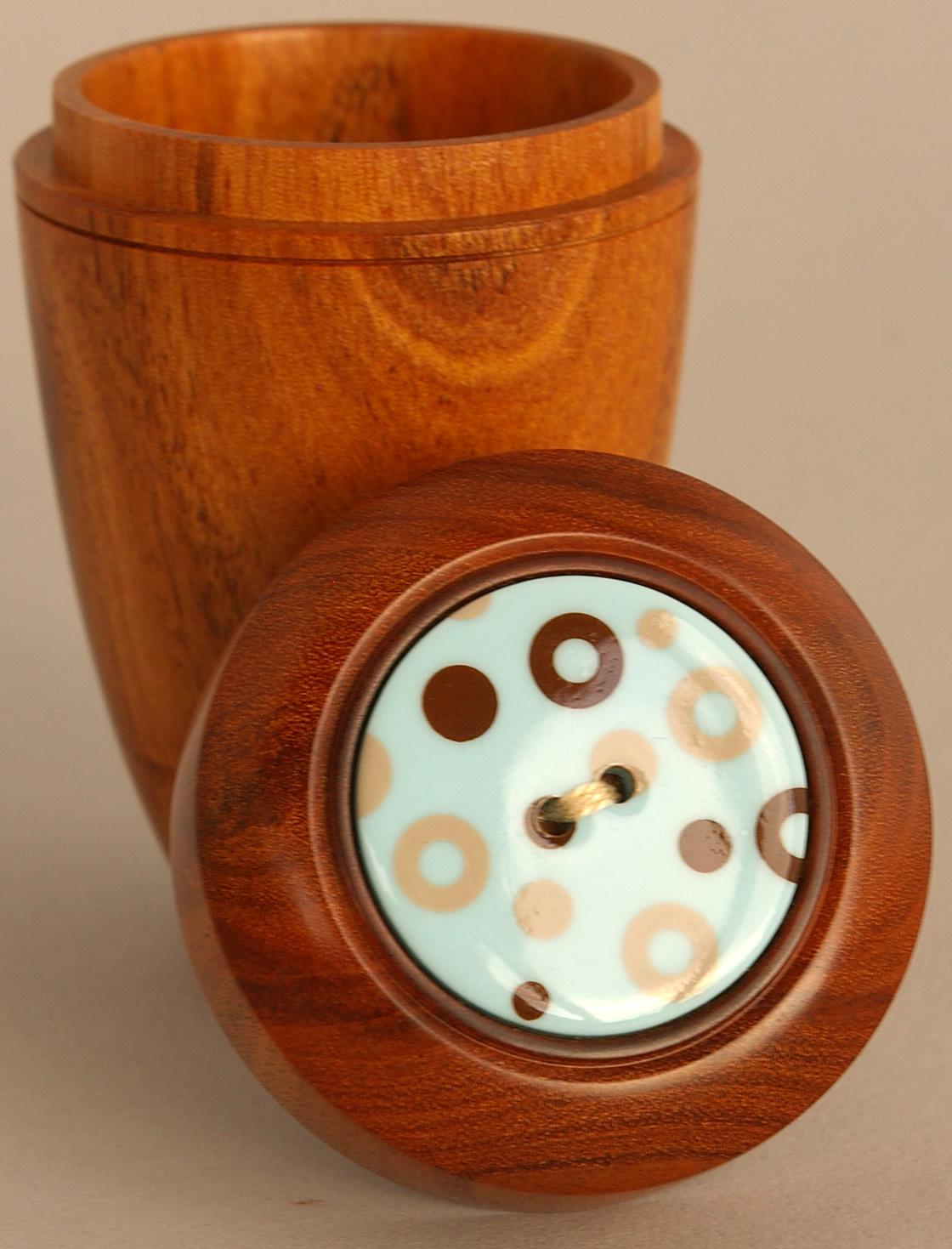 Tall Button Box